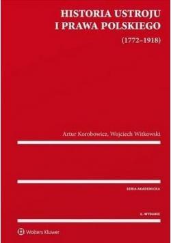 Historia ustroju i prawa polskiego 1772-1918