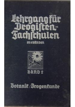 Lehrgang fur Drogistensachschulen, Band 2, 1938 r.