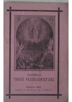 Dzieło  Trójcy Przenajświętszej, 1894 r.