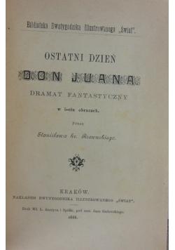 Biblioteka dwutygodnika ilustrowanego Świat 1888 r.