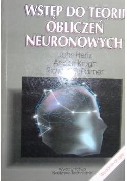 Wstęp do teorii obliczeń neuronowych
