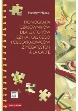 Monografia czasowników dla lektorów j. polskiego..