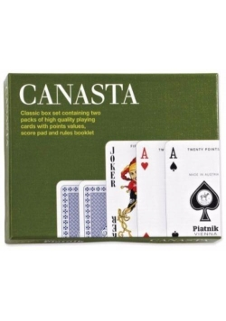 "Karty standard ""Canasta extra new classic"" PIATNIK"
