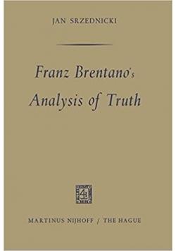 Franz brentano's, Analysis of Truth
