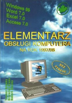 Elementarz obsługi i komputera na rok 1997/98