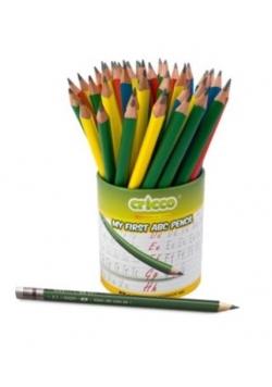 Ołówek trójkątny moje pierwsze ABC (48szt) CRICCO