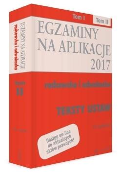 Teksty ustaw. Egzaminy T.2 wyd.15