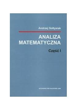 Analiza matematyczna, cz. I