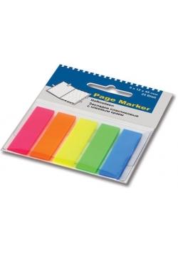 Zakładki indeksujące błyszczące (5x25 fiszek)