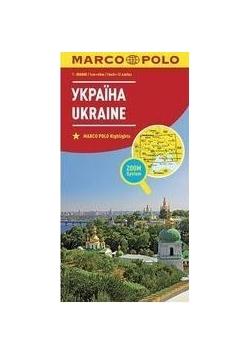 Mapa ZOOM System.Ukraina 1:800 000 plan miasta