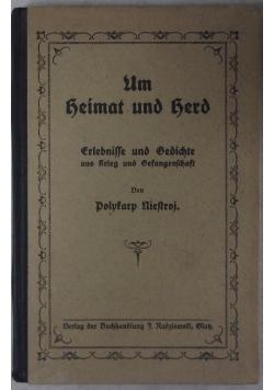 Um heimat und herd, 1921r.