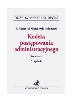 Kodeks postępowania administracyjnego w.5