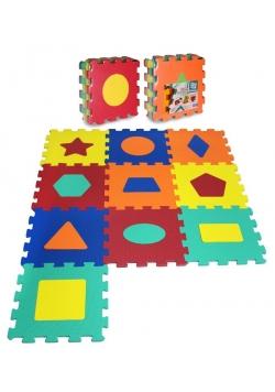 Puzzle piankowe 10 elementów Kształty