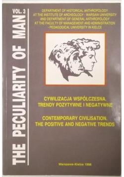 Cywilizacja współczesna. Trendy pozytywne i negatywne. Vol 3.