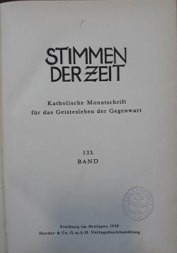 Stimmen der zeit, 1938 r.