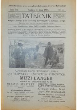 Taternik - Lipiec 1913r.