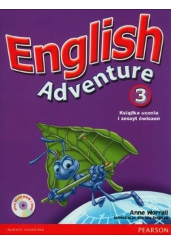 English Adventure 3 pakiet PEARSON