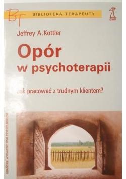 Opór w psychoterapii
