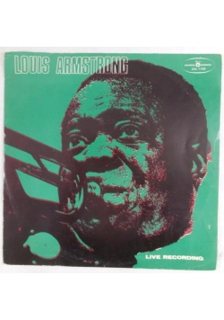 Louis Armstrong Live Recording,płyta winylowa