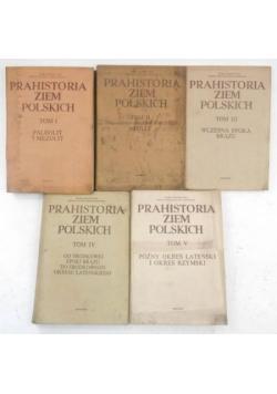 Prahistoria ziem polskich. Tom I-V