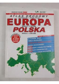 Atlas drogowy - Europa w skali 1:750000, Polska w skali 1: 250000