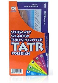 Schematy szlaków turystycznych Tatr Polskich WIT
