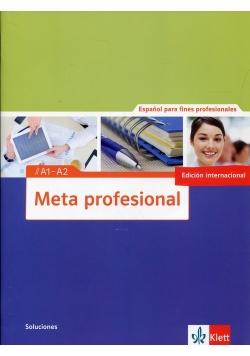 Meta profesional Soluciones A1-A2