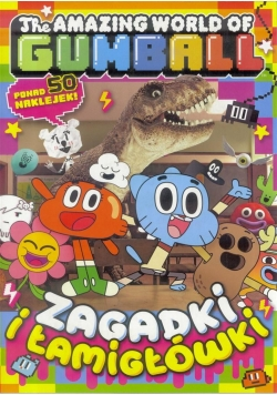 The Amazing World of Gumball T.2 zagadki łamigłówk