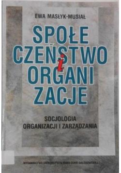 Społeczeństwo i organizacje