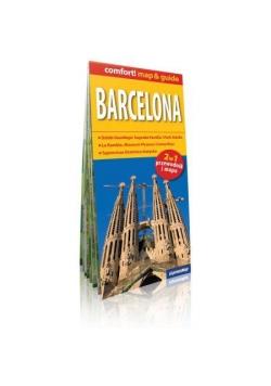 Comfort! map&guide Barcelona 2w1 plan miasta