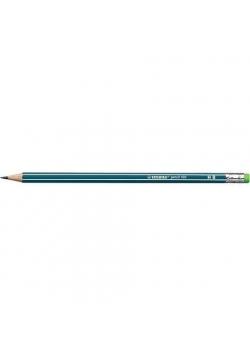 Ołówek 160 z gumką HB petrol (12szt) STABILO