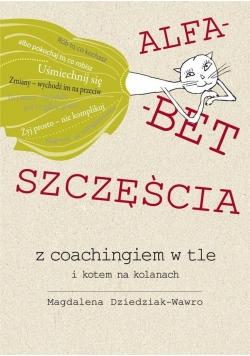 Alfabet szczęścia z coachingiem w tle i kotem