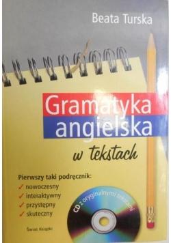 Gramatyka angielska w tekstach +CD