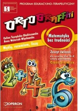 Ortograffiti SP Matematyka bez trudności 1 OPERON