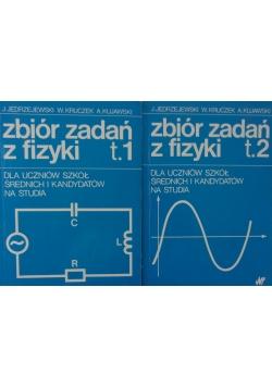 Zbiór zadań z fizyki , tom 1 i 2