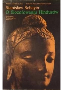 O filozofowaniu Hindusów