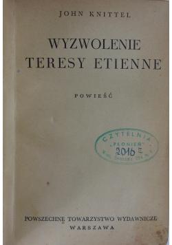 Wyzwolenie Teresy Etienne