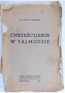 Chrześcijanin w Talmudzie, 1937 r.