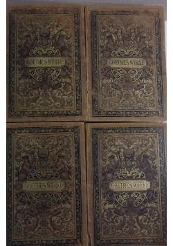Goethes werke, Tom I- IV