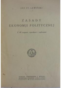 Zasady ekonomji politycznej, 1923 r.