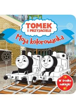 Moja kolorowanka. Tomek i przyjaciele