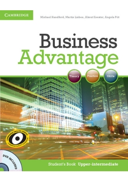 Business Advantage Upper-intermediate Student's Book + DVD