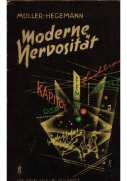 Moderne Nervositat