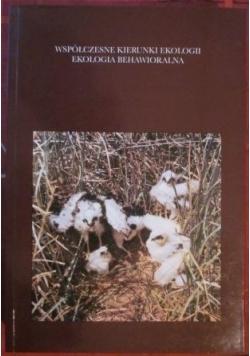 Współczesne kierunki ekologii, ekologia behawioralna