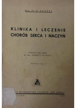 Klinika i leczenie chorób serca i naczyń, 1939 r.