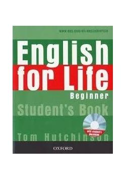 English for Life  Beginner+ CD