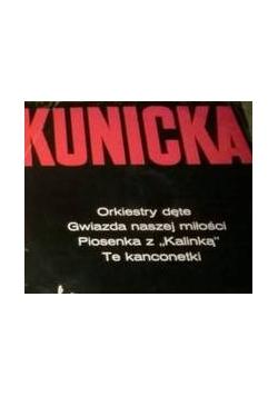 Halina Kunicka, płyta winylowa