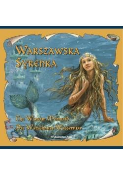 Warszawska Syrenka wersja pol. ang. i niem.