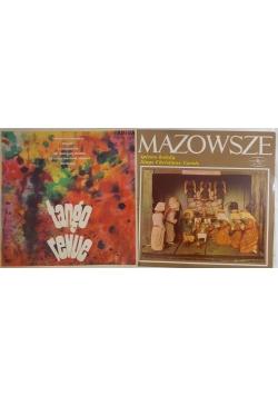 Tango revue/ Mazowsze śpiewa kolędy, Płyty winylowe