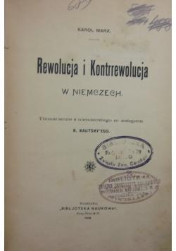 Rewolucja i kontrrewolucja, 1906r.